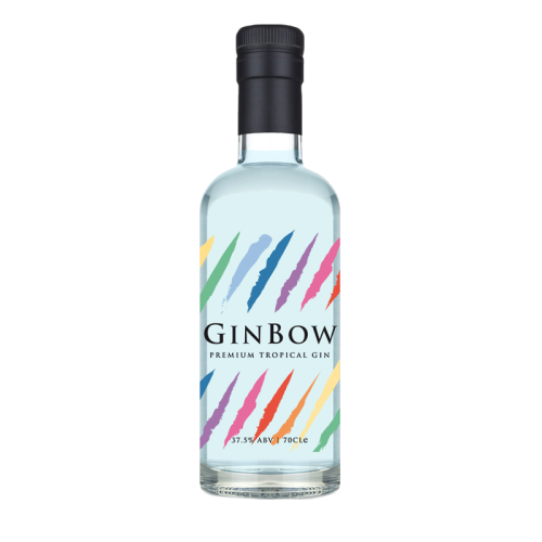GinBow-drink-the-rainbow-nhs-donation-tropical-fruit-flavoured-gin
